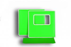 """Корка """"Rectangle""""/""""Прямоугольник"""", Green (зеленый)"""