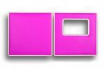 """Корка """"Rectangle""""/""""Прямоугольник"""", Magenta (розовый)"""