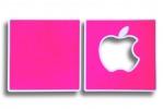 """Корка """"Apple""""/""""Яблоко"""", Magenta (розовый)"""