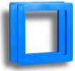 Корка-рамка пластиковая, Cyan / голубая